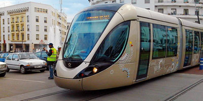 Perturbation du trafic routier à Rabat à cause d'une panne d'un tramway