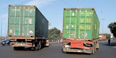 Transport routier : de graves carences dans l'immobilisation des conteneurs !
