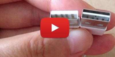 Les cà¢bles USB bientôt réversibles