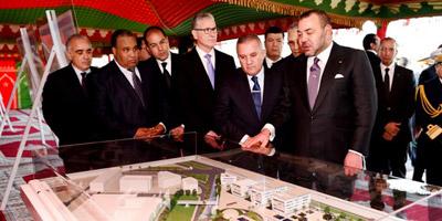 Lancement des travaux de l'Université Mohammed VI des sciences de la santé à Casablanca