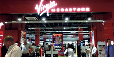 Virgin Mega Store : 4 nouveaux magasins à l'étude et une activité qui croît fortement