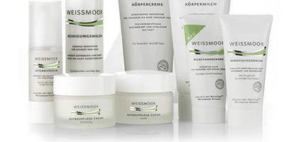 Beric distribue la gamme de produits cosmétiques allemands Weissmoor