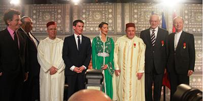 Des Wissams Royaux remis à des représentants des trois religions monothéistes en France