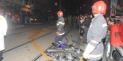 Casablanca : un mort dans accident de tramway à Hay Mohammadi