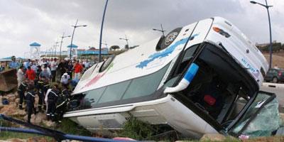 10 morts et 33 blessés, dans un accident de route près de Nador