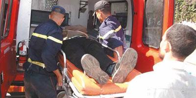 Trente blessés dans un accident d'autocar au niveau de la rocade de Ain Atiq