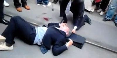 Rabat : Un sexagénaire blessé dans un accident de tramway !