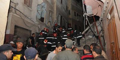 Effondrement d'une maison à Casablanca : Cinq morts