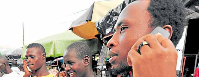 Trop chères, les communications téléphoniques vers l'Afrique subsaharienne !