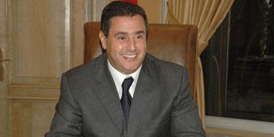 Akhennouch chargé d'assurer les fonctions de ministre par intérim de l'économie et des finances
