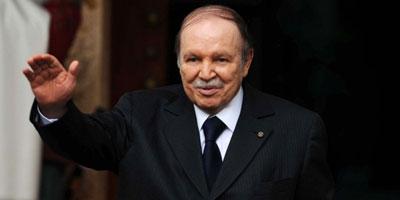 Bouteflika officiellement réélu avec 81.53% des voix en Algérie