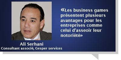 Ali Serhani : Â«Les business games présentent plusieurs avantages pour les entreprises comme celui d'asseoir leur notoriété»