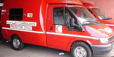 Ouarzazate : un mort et 6 blessés graves dans un accident de la route.