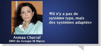Asmaa Charraf : Â«Il n'y a pas de système type, mais des systèmes adaptés»