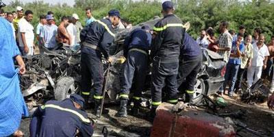 El Jadida: 6 morts et 40 blessés dans le renversement d'un autocar à Tnine Chtouka