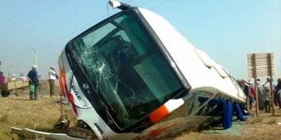 Accident d'autocar près d'Essaouira : 16 morts, dont des étrangers