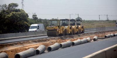 Arrêt de la circulation sur l'autoroute Bouznika – Skhirat, du 18 avril à minuit au 19 avril à 5H du matin