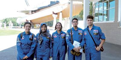 Cinq lycéens marocains s'initient à l'aventure spatiale