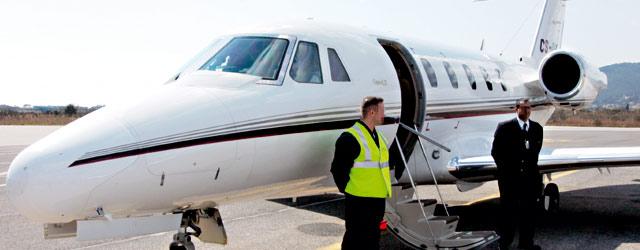 L'aviation d'affaires dans une zone de turbulences