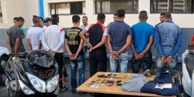 Démantèlement à Aïn Aouda d'une bande de malfaiteurs impliqués dans des agressions à main armée
