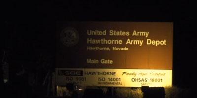 USA : explosion accidentelle sur une base militaire du Nevada, sept morts