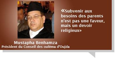 Mustapha Benhamza : Subvenir aux besoins des parents n'est pas une faveur, mais un devoir religieux