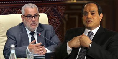 Abdelilah Benkirane rencontre Al Sissi en Egypte