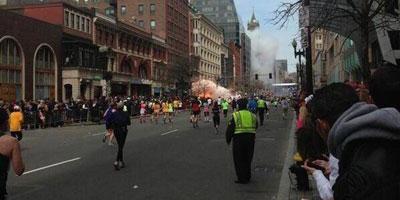 Explosions au marathon de Boston : au moins 2 morts et plusieurs blessés