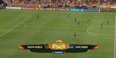 CAN-2013 : Match nul pour l'Afrique du sud et le Cap-Vert