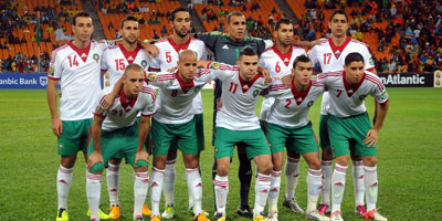 CAN 2013 : Cap-Vert – Maroc, Le Onze de départ