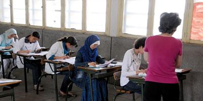 L'examen national unifié du baccalauréat du 10 au 12 juin