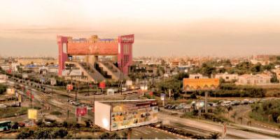 Casablanca : le chantier du pont de Sidi Maà¢rouf ouvre dans les prochains jours pour être livré en 2017