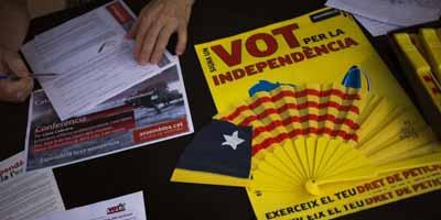 Référendum en Catalogne : 60 % des Espagnols sont contre sa tenue