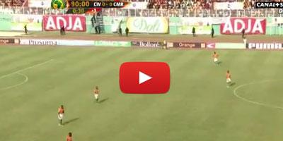 Côte d'Ivoire – Caméroun : drôle de fin de match !!