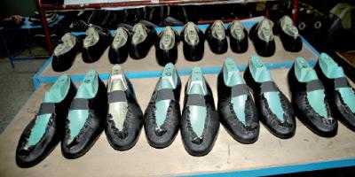 Reprise timide des exportations de chaussures