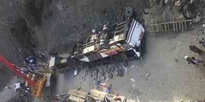 Chute d'un autocar dans un ravin à El Haouz : 42 morts et 24 blessés