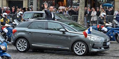 La DS5 de François Hollande au Maroc ? Le pied, le pied !