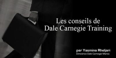 Emploi : Une sélection de Conseils de Dale Carnegie Training, Par Yasmina Rheljari