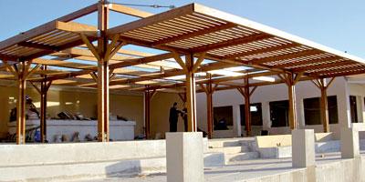 charpente bois maroc