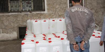 Arrestation à Taza d'un trafiquant d'alcool de contrebande