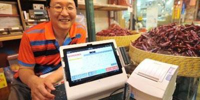 Corée du Sud: la technologie au secours des petits commerçants