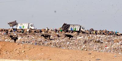 Décharge de Casablanca : les pluies amplifient  le risque de pollution