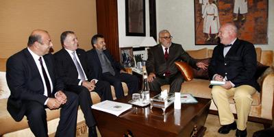 M. Benkirane reçoit une délégation parlementaire brésilienne