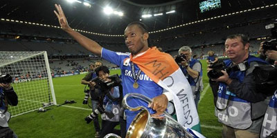Didier Drogba quitte Chelsea
