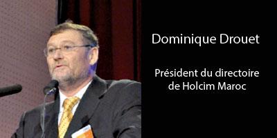 Dominique Drouet : «Lafarge et Holcim resteront concurrents jusqu'àla fusion»