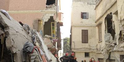 Marrakech : Effondrement d'une demeure dans l'ancienne médina, pas de victimes