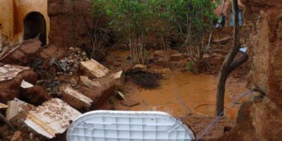 Intempéries : effondrement de 177 vieilles bà¢tisses dans la province de Tata
