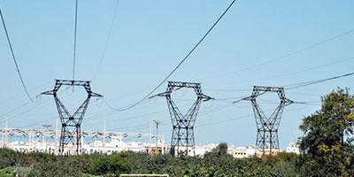 Reprise de la consommation d'électricité  des gros clients