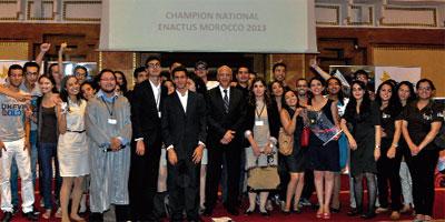 L'équipe de l'EMI remporte la 10e édition d'Enactus Morocco