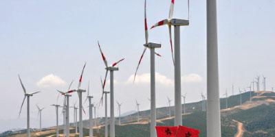 L'éolien et l'hydraulique ont généré 13,4%  de l'électricité produite en 2013